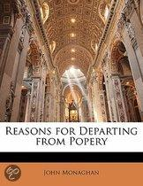 Reasons for Departing from Popery