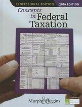 Concepts in Federal Taxation 2016, Professional Edition (with H&r Block Tax Preparation Software CD-ROM)