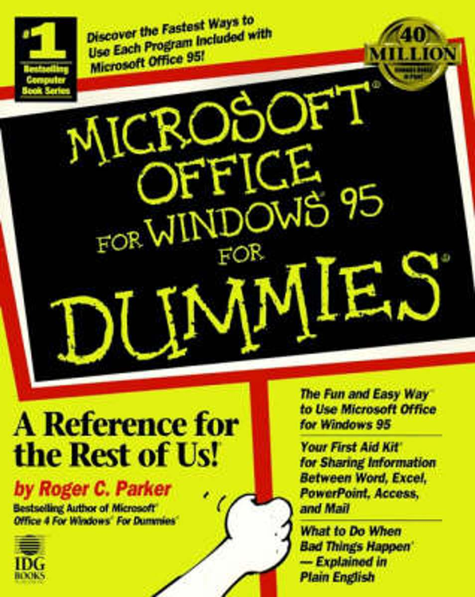 Microsoft Office for Windows '95 For Dummies