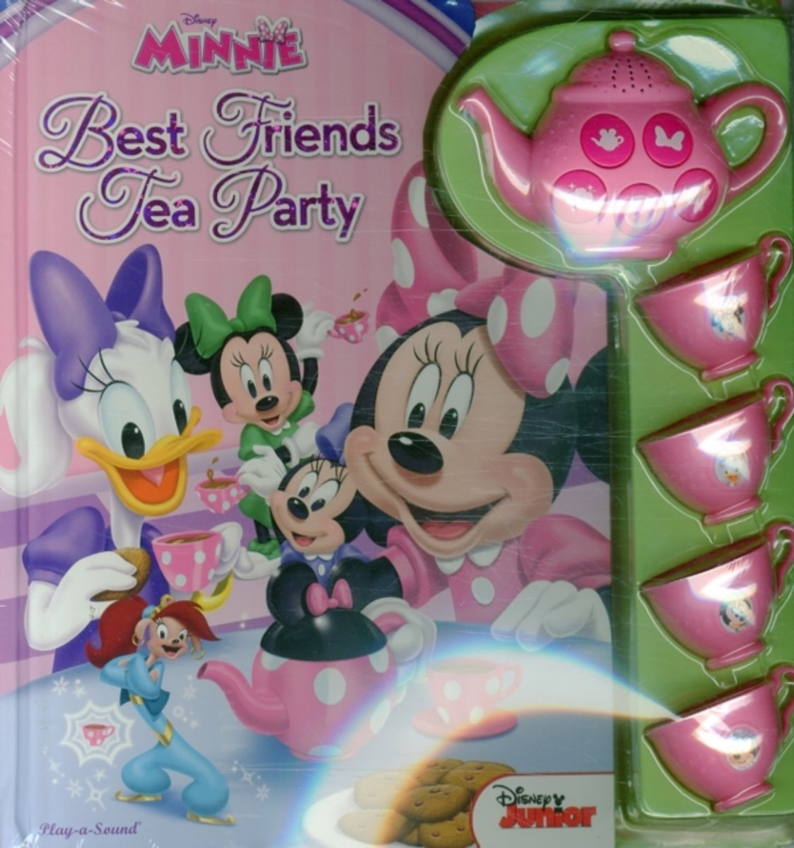 Minnie Mouse Tea Set Book