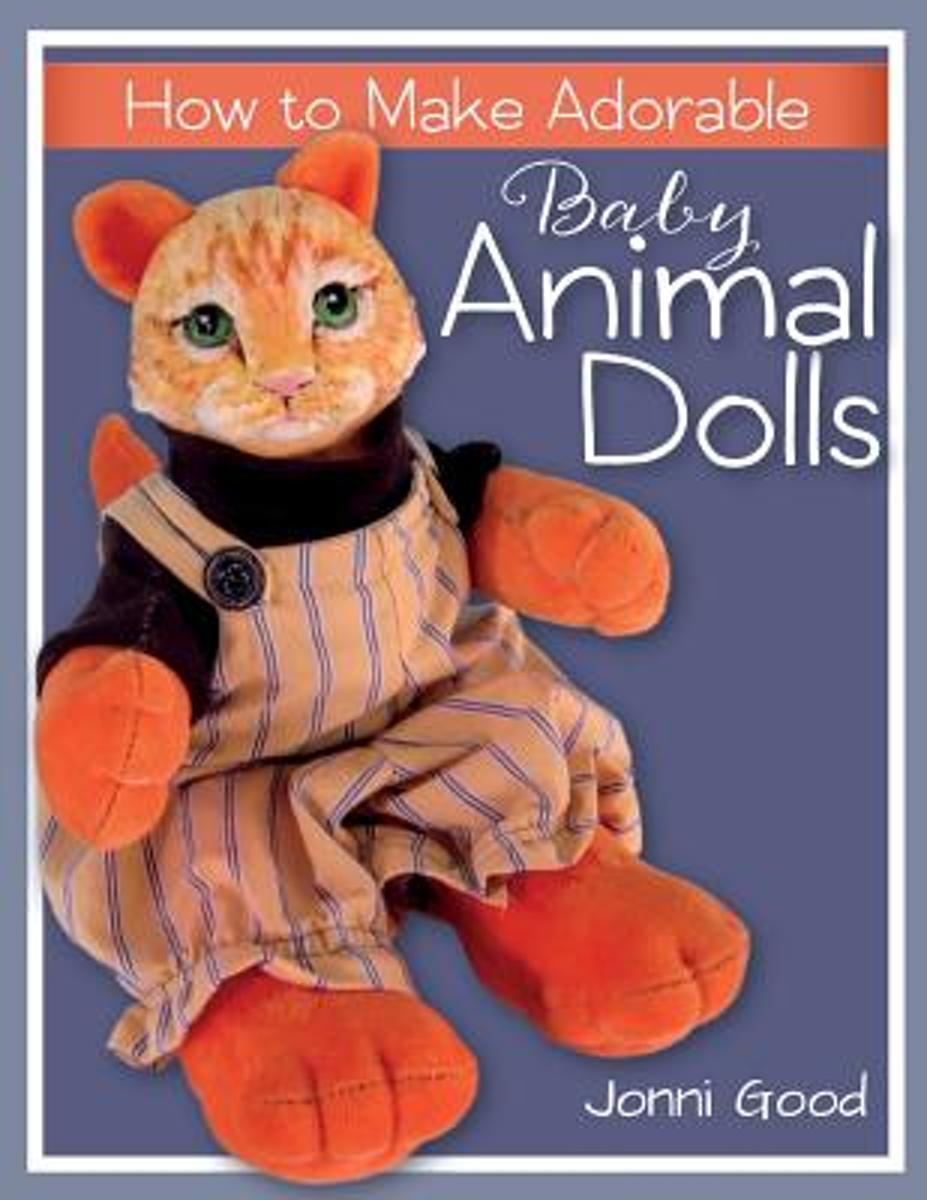How to Make Adorable Baby Animal Dolls