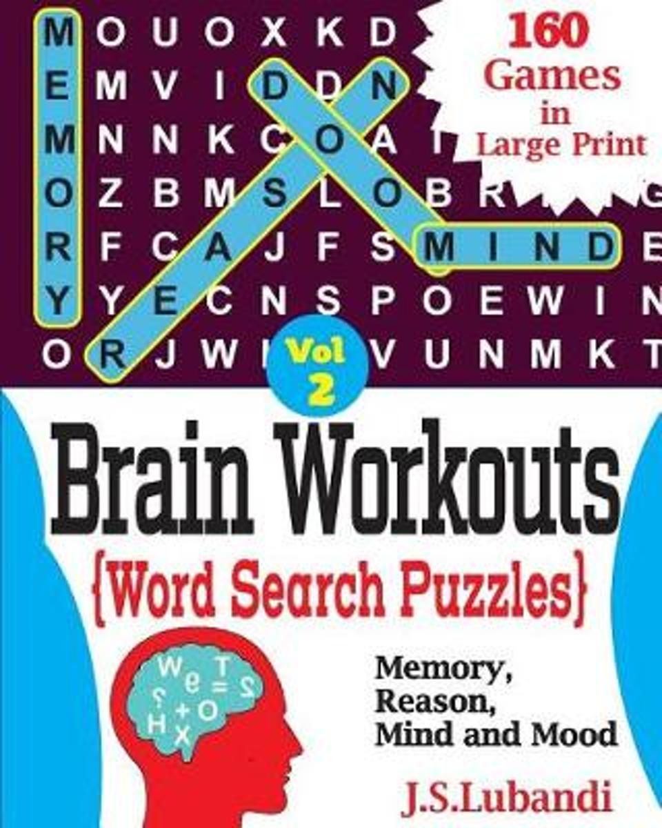 Brain Workouts(word Search) Puzzles