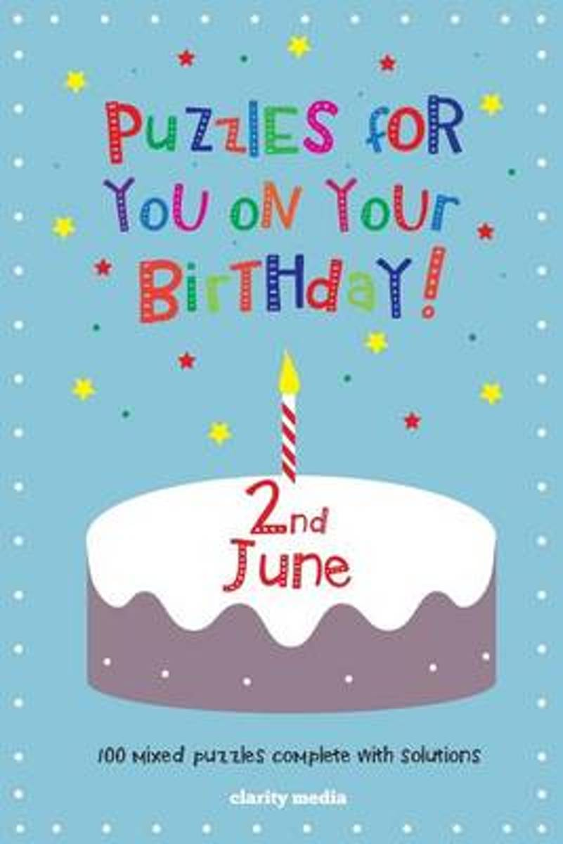 Puzzles for You on Your Birthday - 2nd June