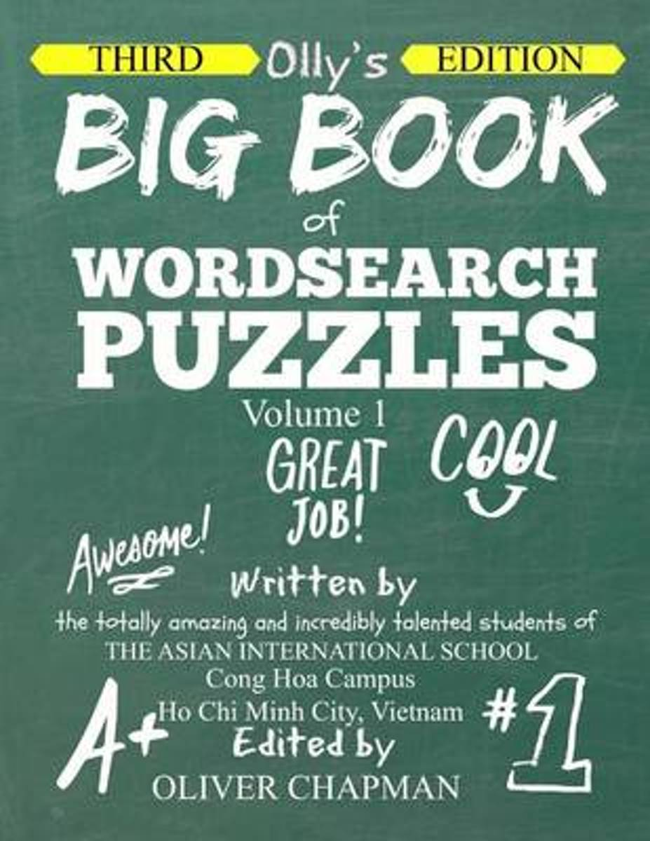 Olly's Big Book of Wordsearch Puzzles - Volume 1 Third Edition