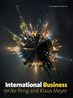 International Business (with CengageNOW and ebook Access Card)