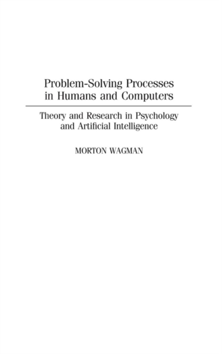 Problem-Solving Processes in Humans and Computers