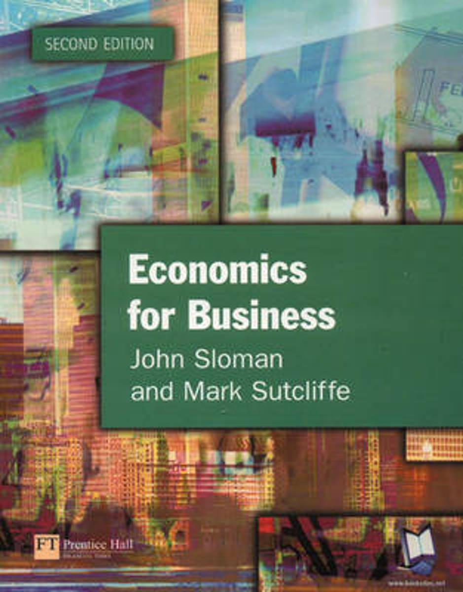 Economics for Business (second edition)