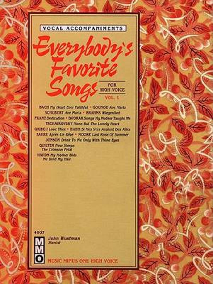 Everybody's Favorite Songs - High Voice, Vol. I