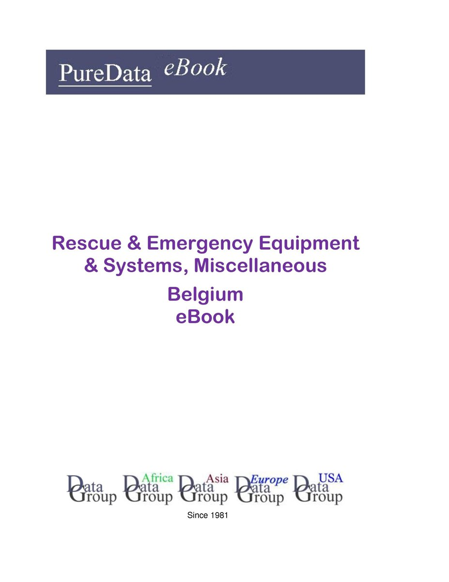 Rescue & Emergency Equipment & Systems, Miscellaneous in Belgium