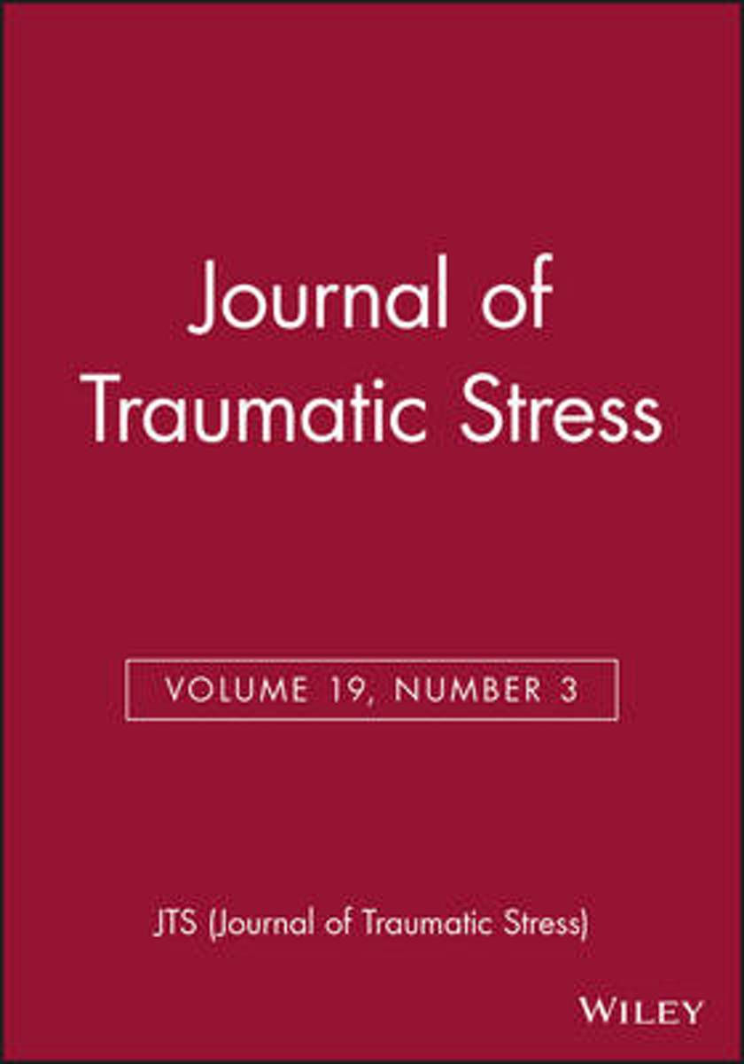 Journal of Traumatic Stress, Volume 18, Number 6