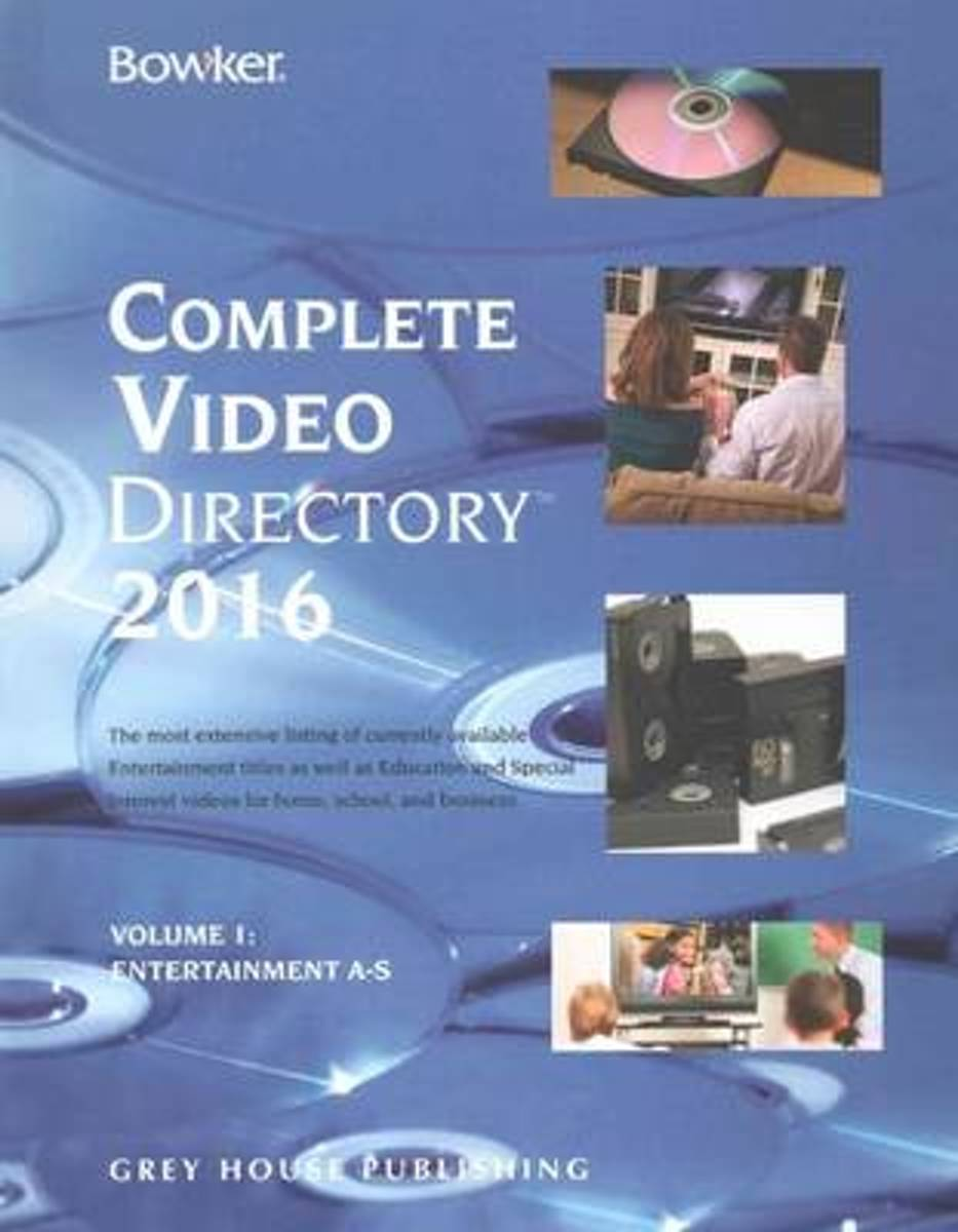 Bowker's Complete Video Directory, 2016