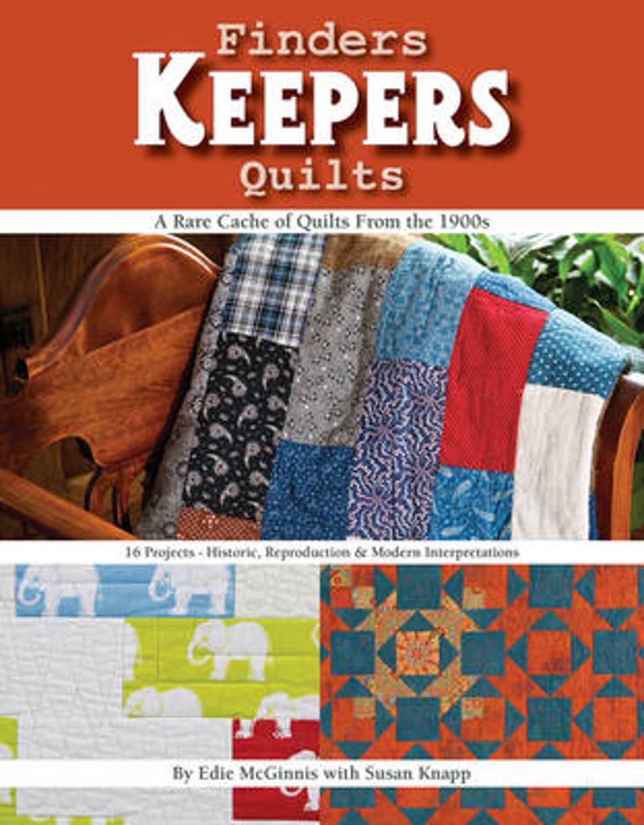Finders Keepers Quilts - A Rare Cache of Quilts from the 1900s