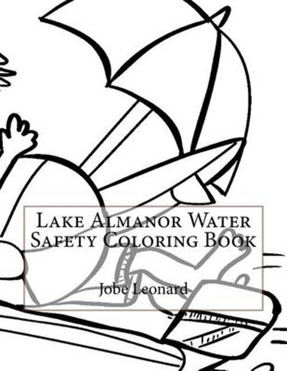 Lake Almanor Water Safety Coloring Book