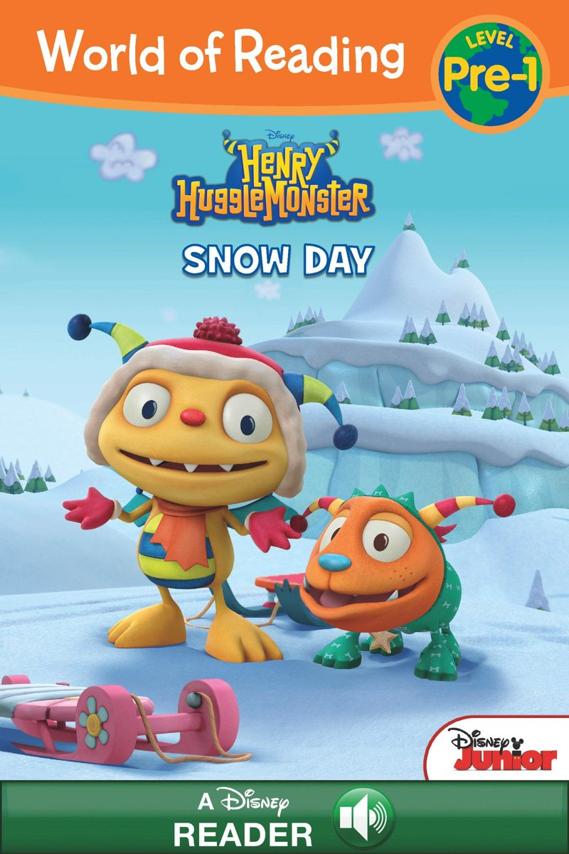 World of Reading: Henry Hugglemonster: Snow Day