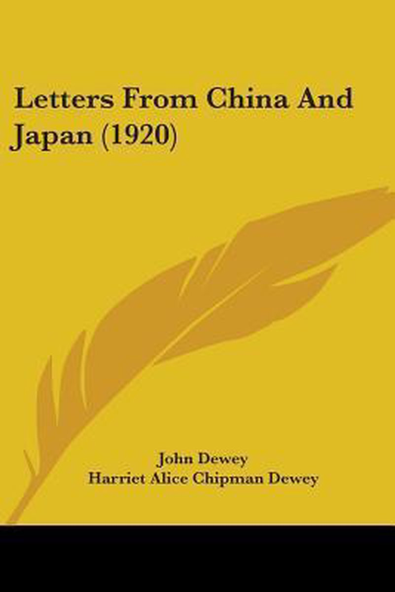 Letters from China and Japan (1920)