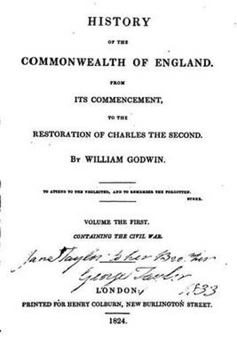 History of the Commonwealth of England, from Its Commencement to the Restoration of Charles the Second