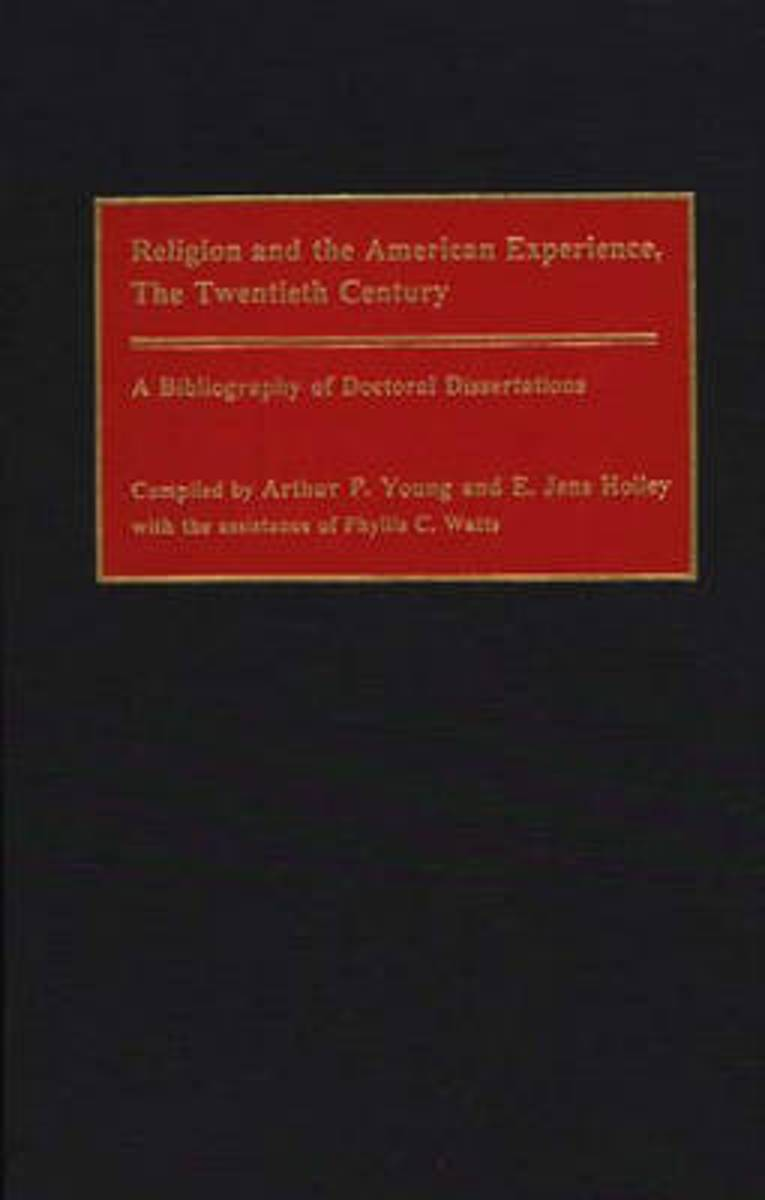 Religion and the American Experience, The Twentieth Century