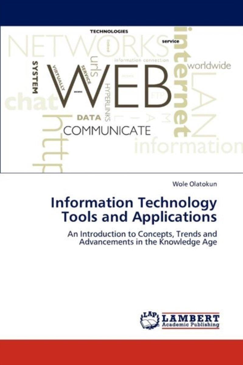 Information Technology Tools and Applications