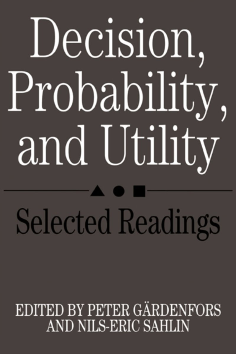 Decision, Probability and Utility