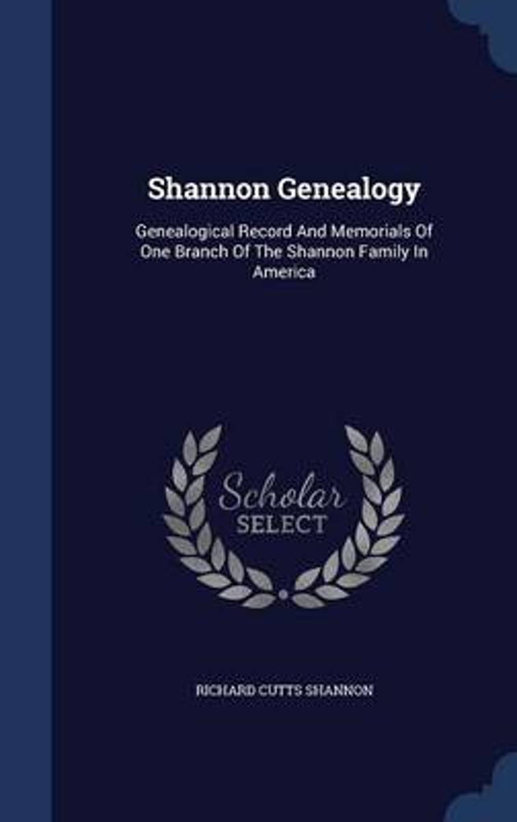 Shannon Genealogy