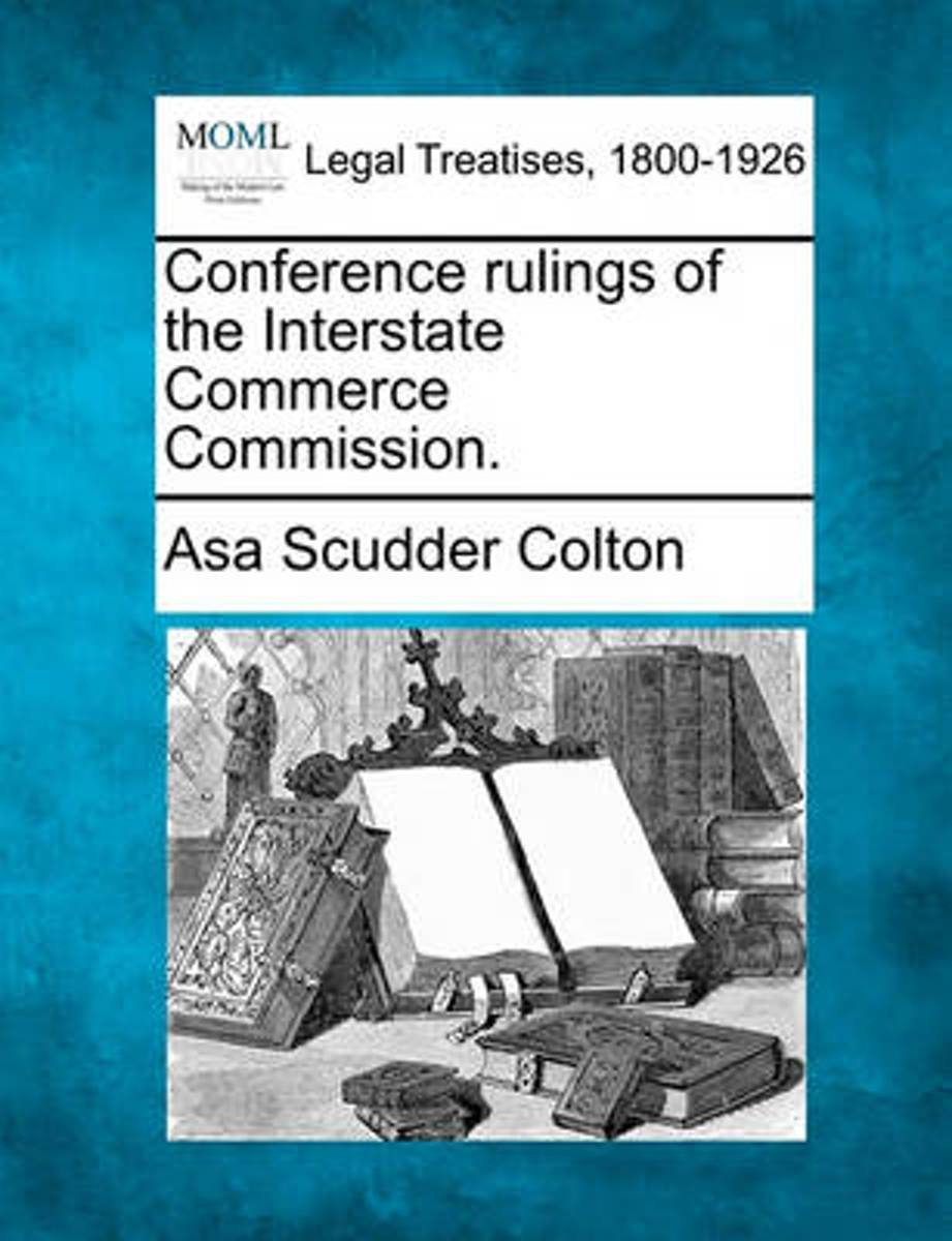 Conference Rulings of the Interstate Commerce Commission.