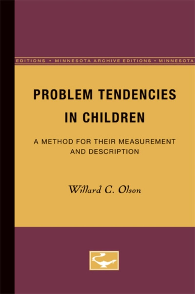 Problem Tendencies in Children