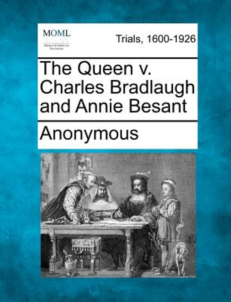 The Queen V. Charles Bradlaugh and Annie Besant