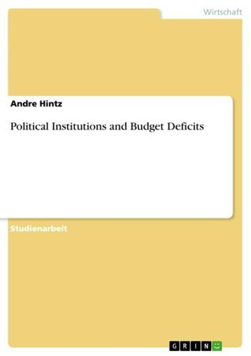 Political Institutions and Budget Deficits