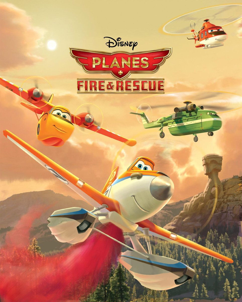 Planes Fire & Rescue Movie Storybook