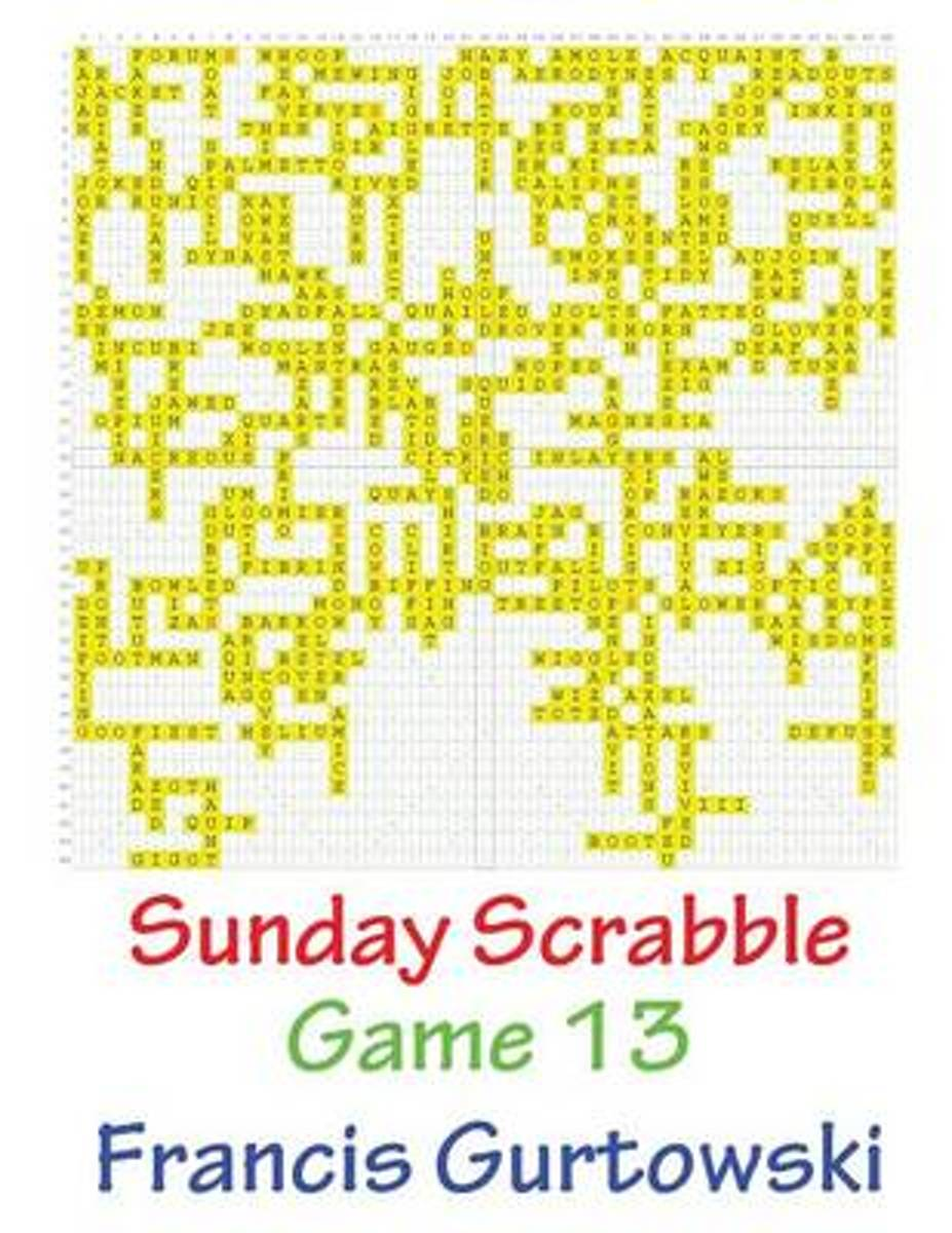 Sunday Scrabble Game 13