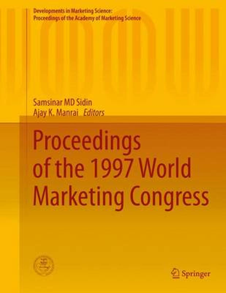 Proceedings of the 1997 World Marketing Congress