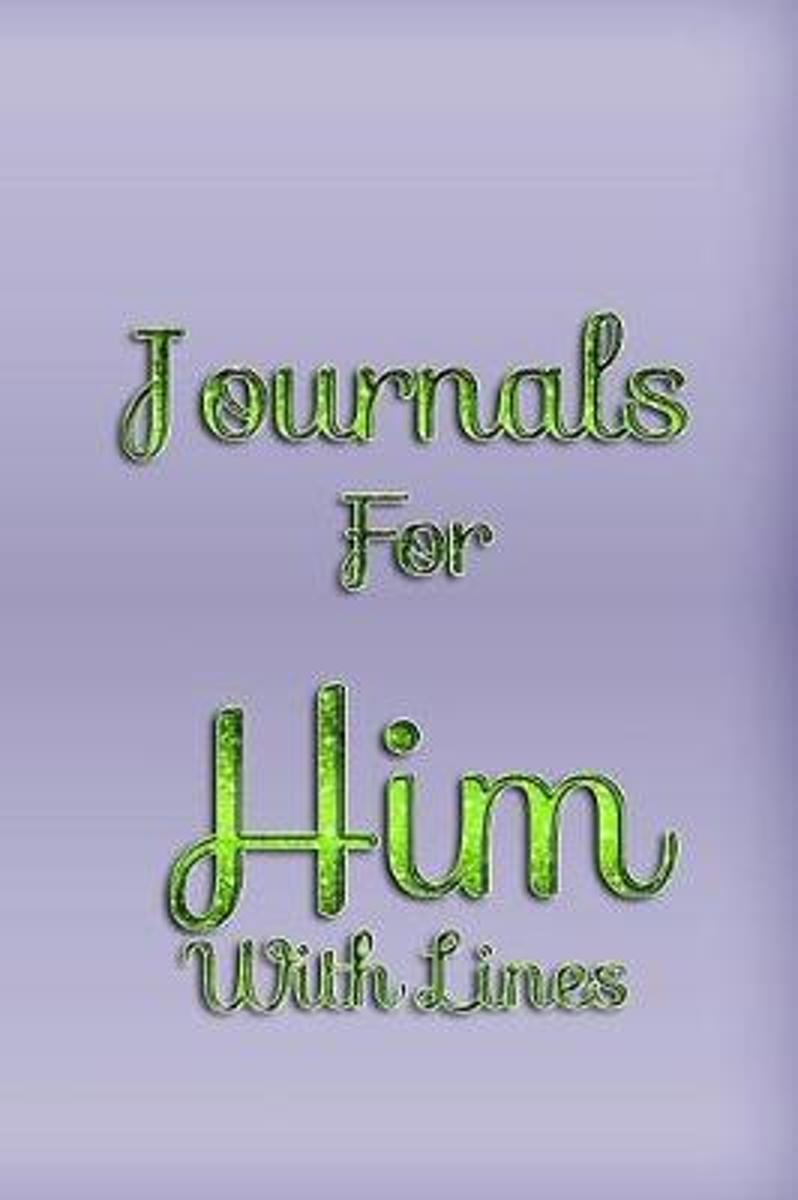 Journals for Him with Lines