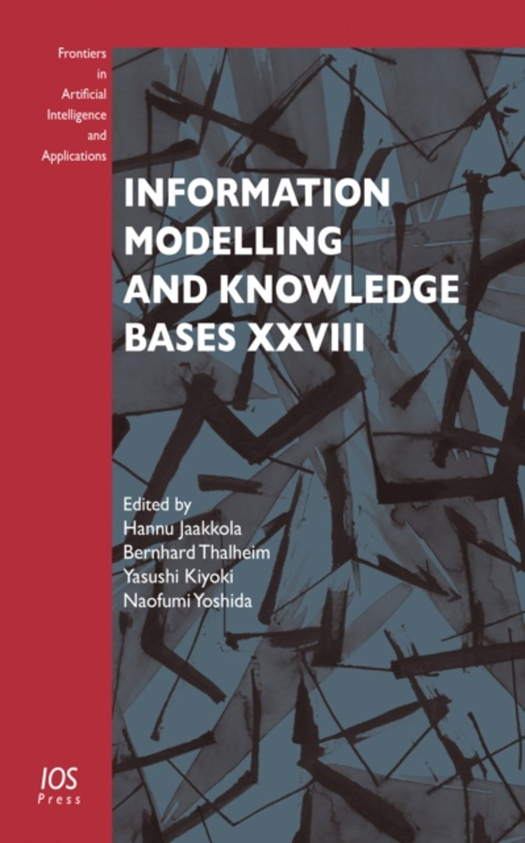 Information Modelling and Knowledge Bases XXVIII