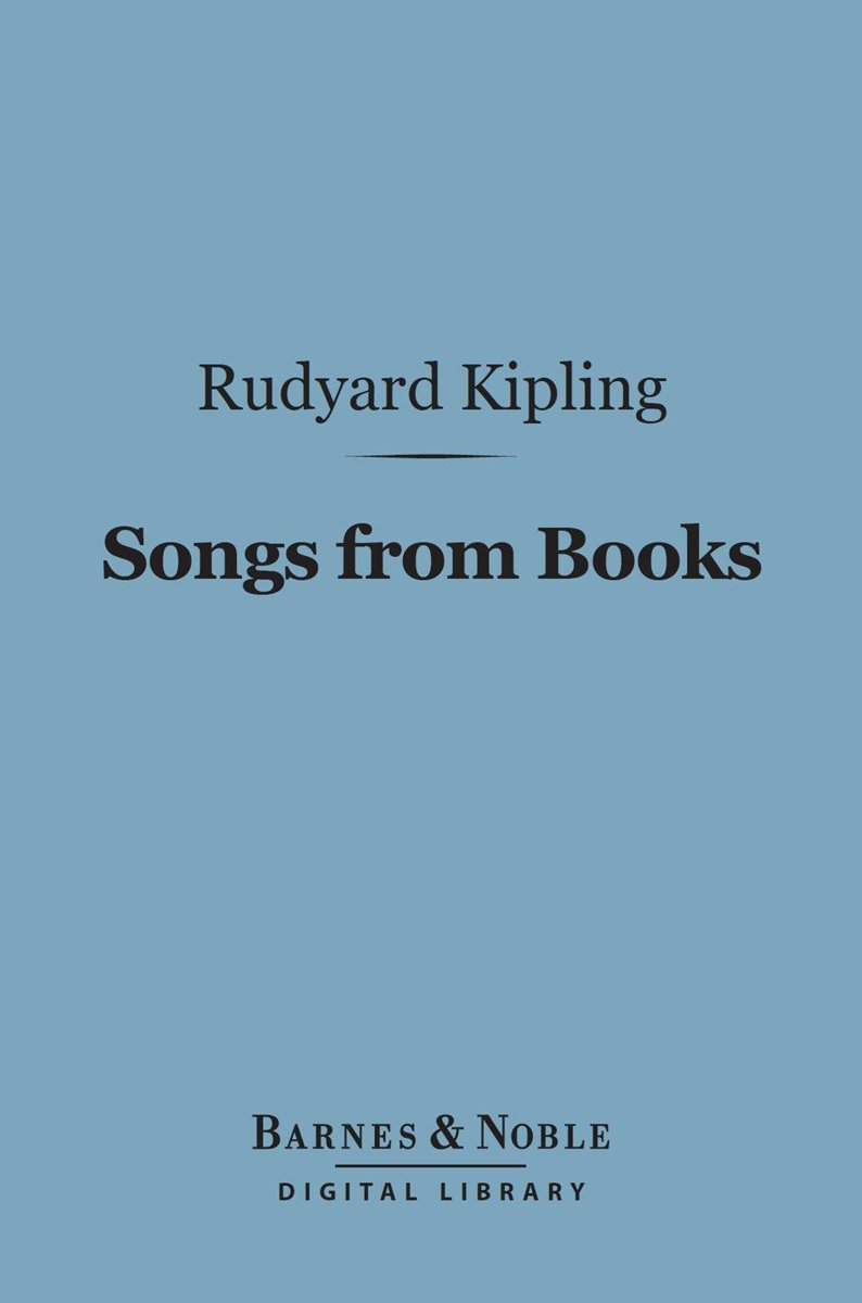 Songs from Books (Barnes & Noble Digital Library)