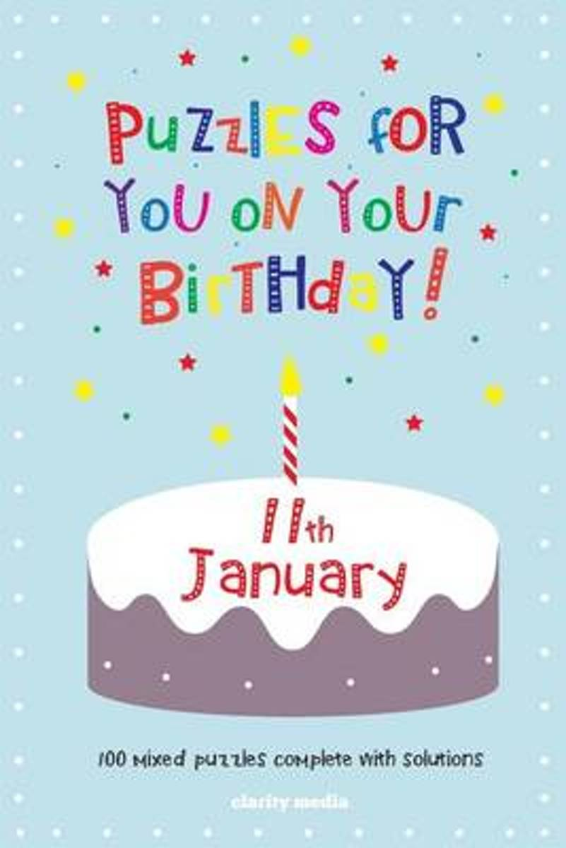 Puzzles for You on Your Birthday - 11th January