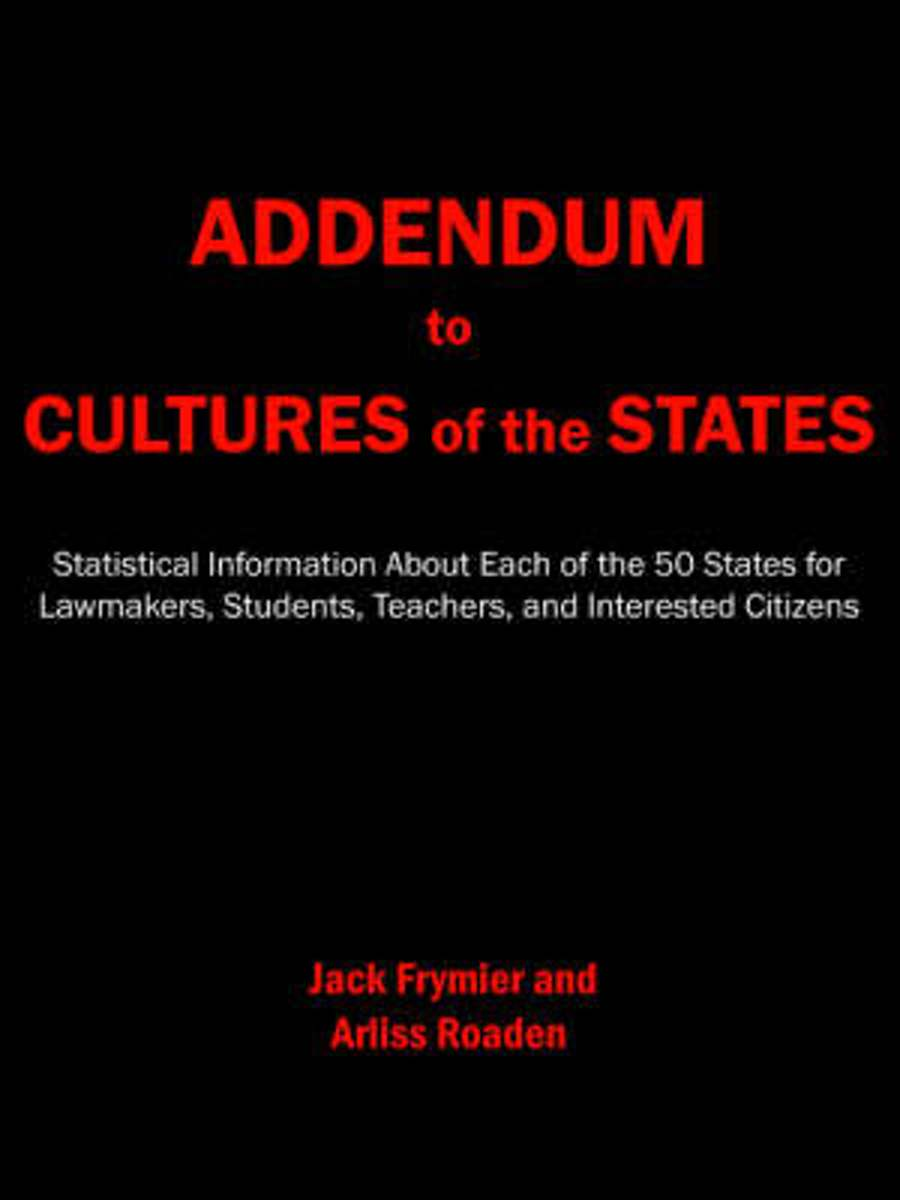 Addendum to Cultures of the States