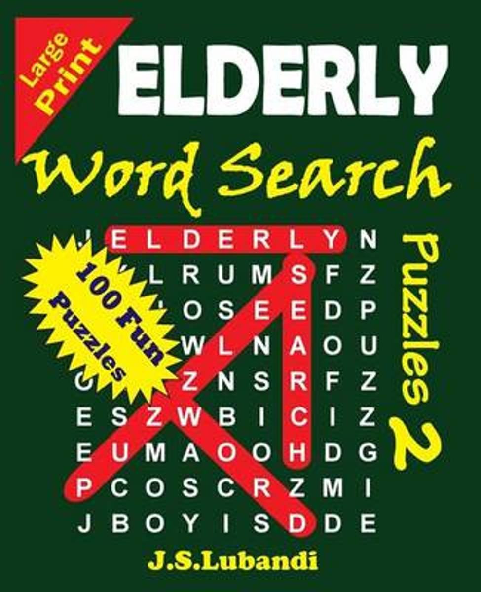 Elderly Word Search Puzzles 2
