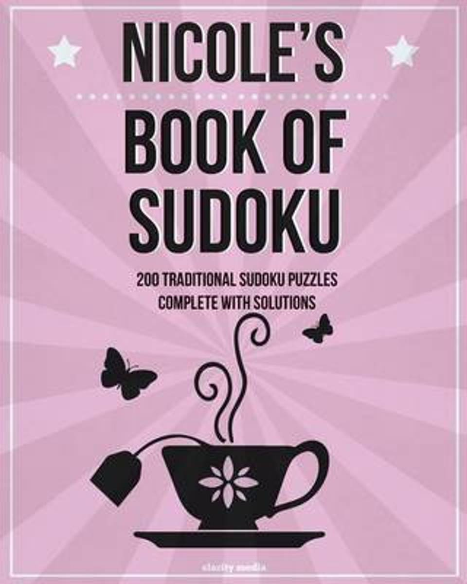 Nicole's Book of Sudoku