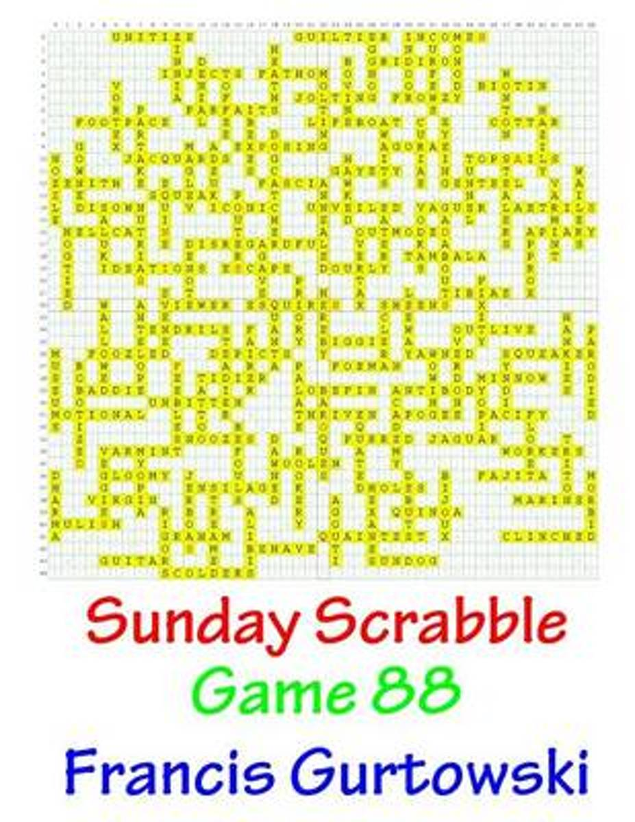Sunday Scrabble Game 88