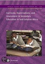Curricula, Examinations and Assessment in Sub-Saharan Secondary Education