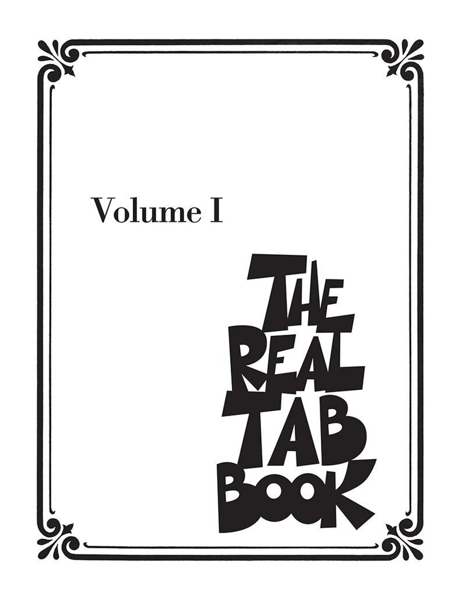 The Real Tab Book - Vol. 1 (Songbook)