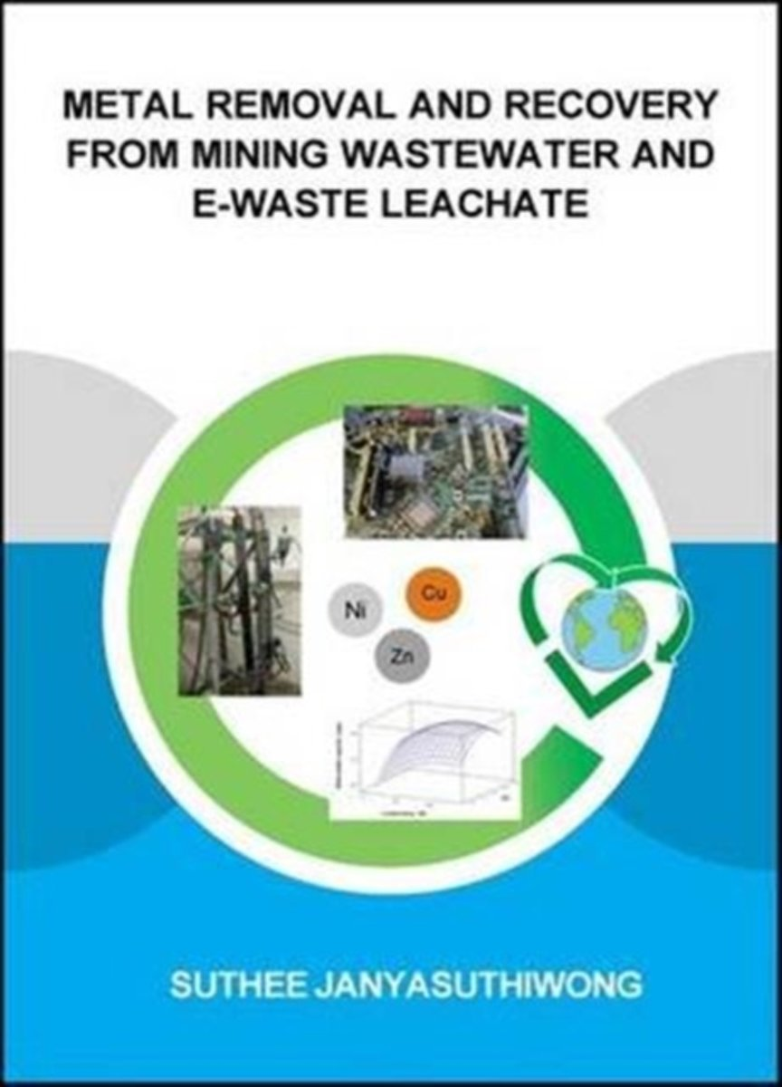 Metal Removal and Recovery from Mining Wastewater and E-waste Leachate