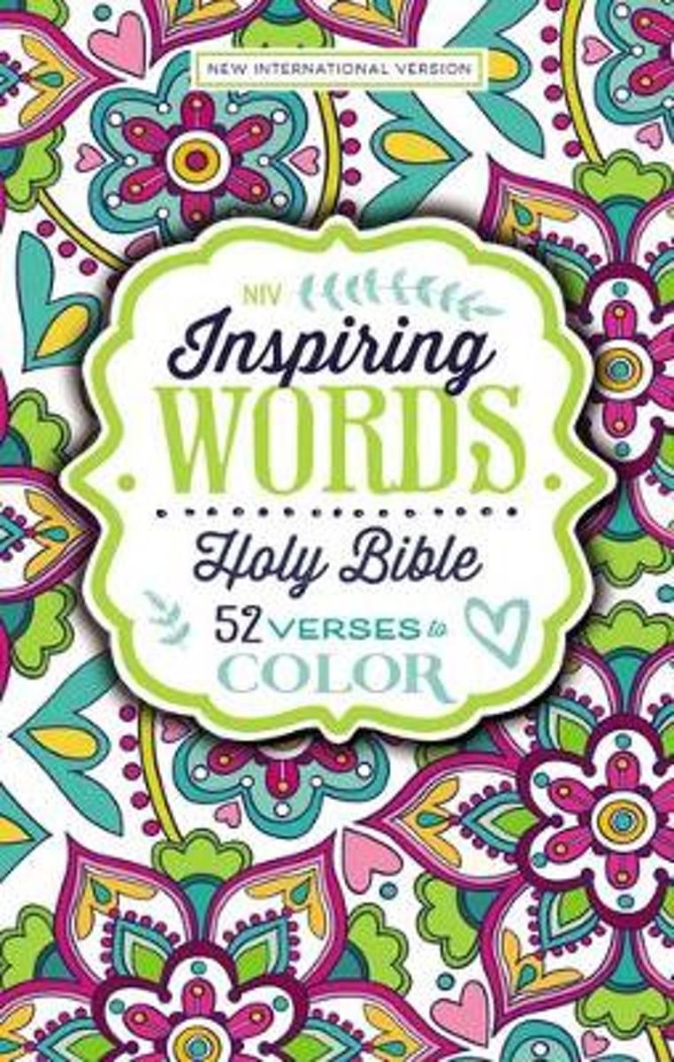NIV Inspiring Words Holy Bible, Hardcover