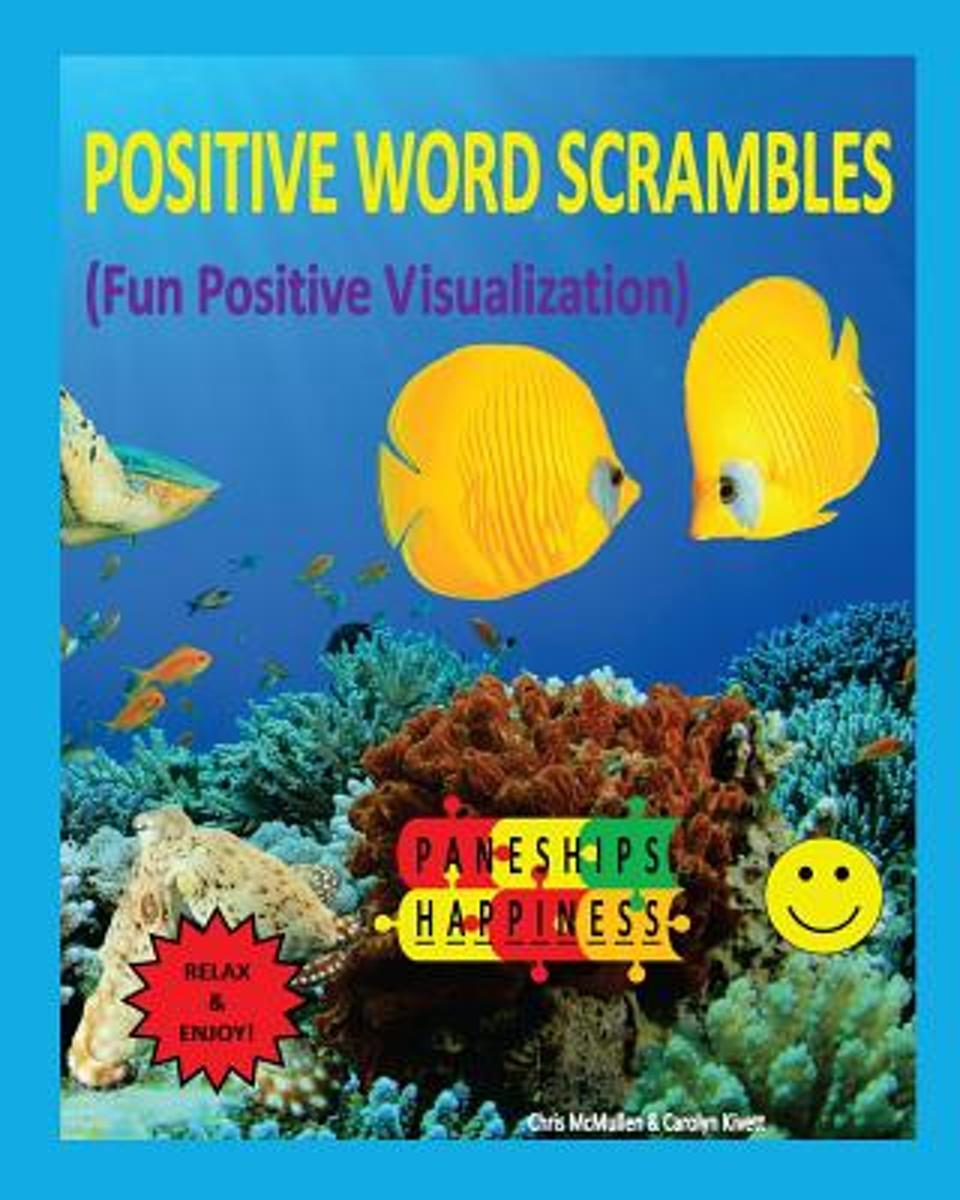Positive Word Scrambles (Fun Positive Visualization)