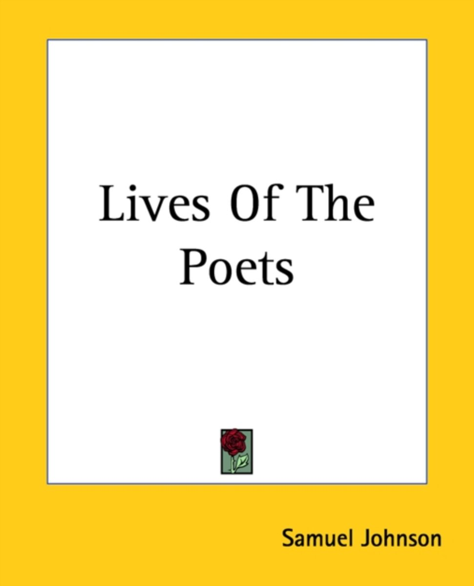 Lives Of The Poets