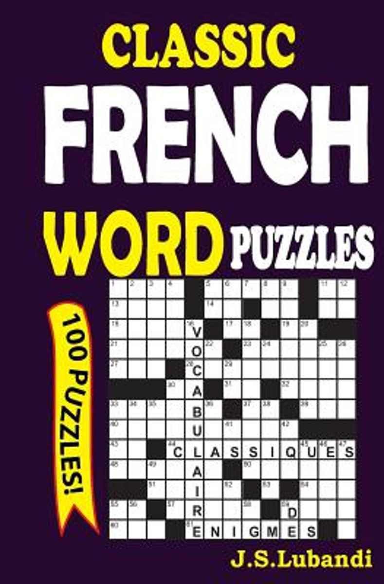 Classic French Word Puzzles