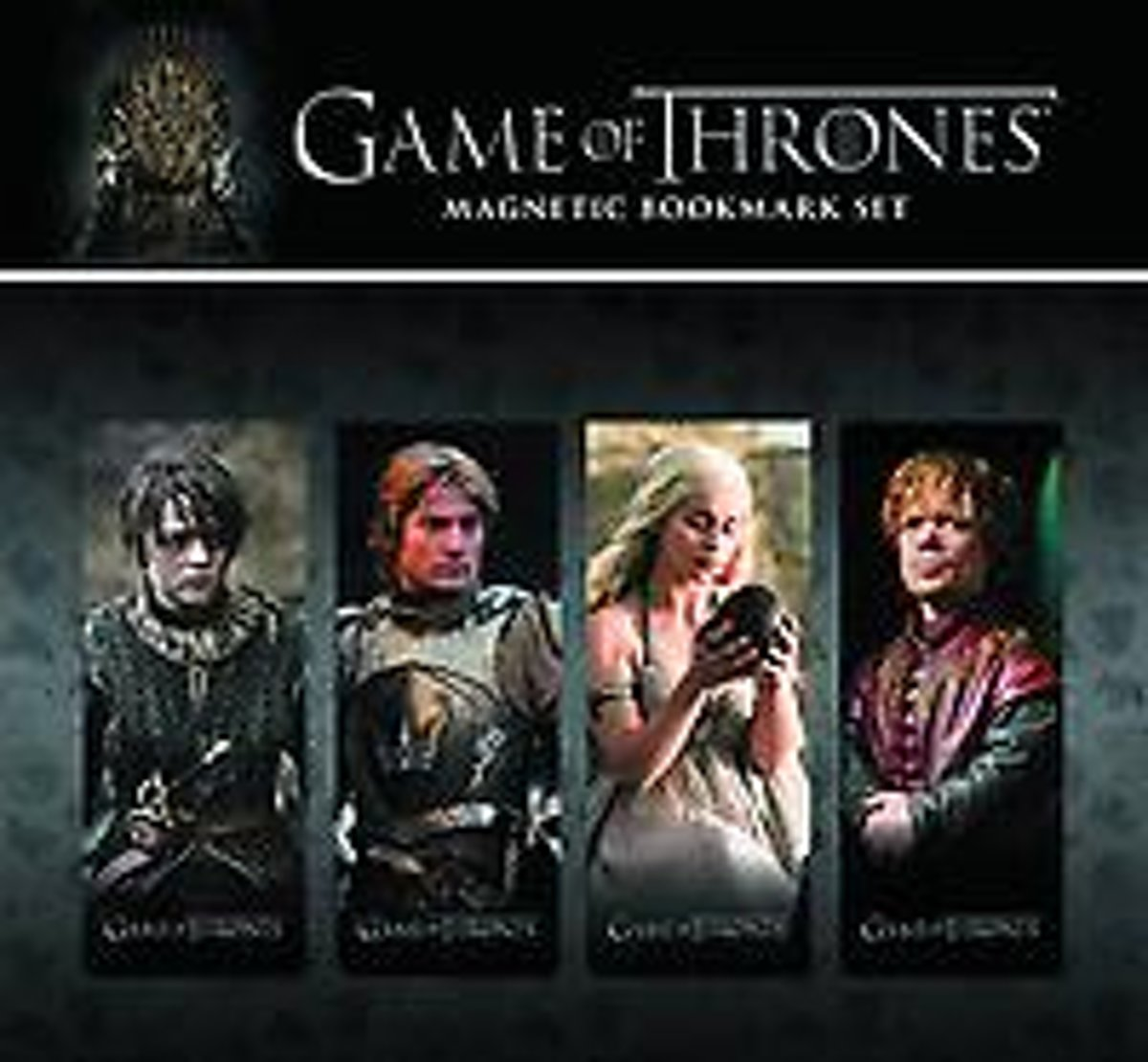 Game of Thrones Magnetic Book Mark Set 2