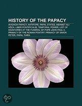 History Of The Papacy: Avignon Papacy, Antipope, Papal States, Mehmet Ali A Ca, Liber Pontificalis, Temporal Power