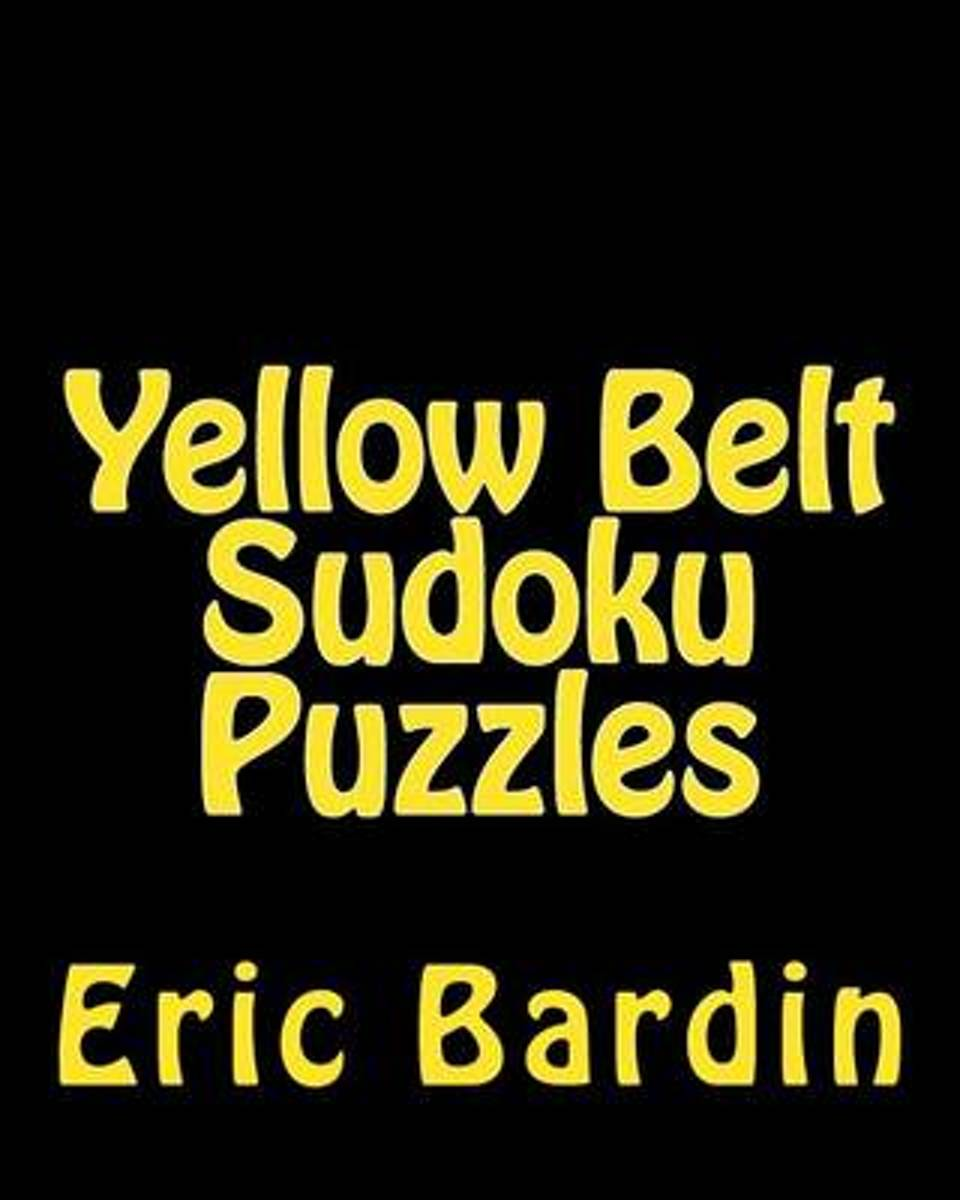 Yellow Belt Sudoku Puzzles