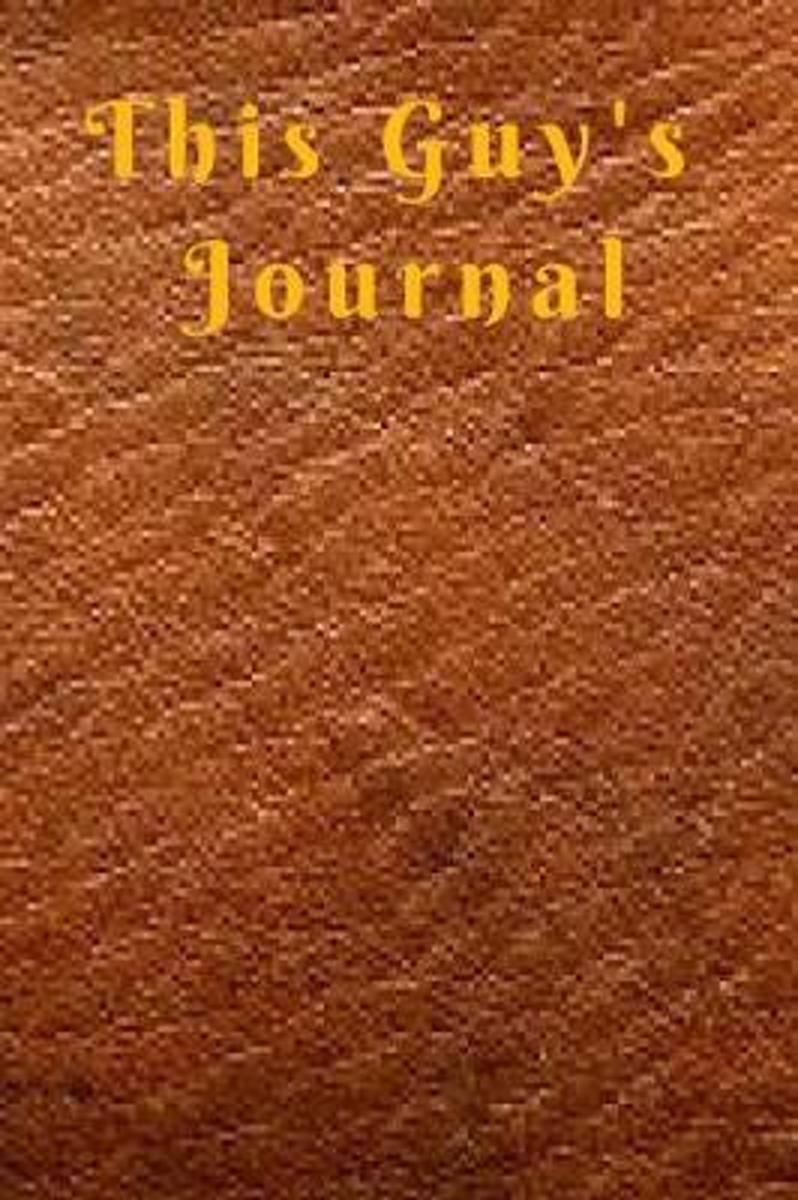 This guy's journal